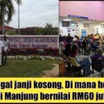 Janji BN tinggal janji kosong, Di mana hospital Baru Seri Manjung bernilai RM60 juta?