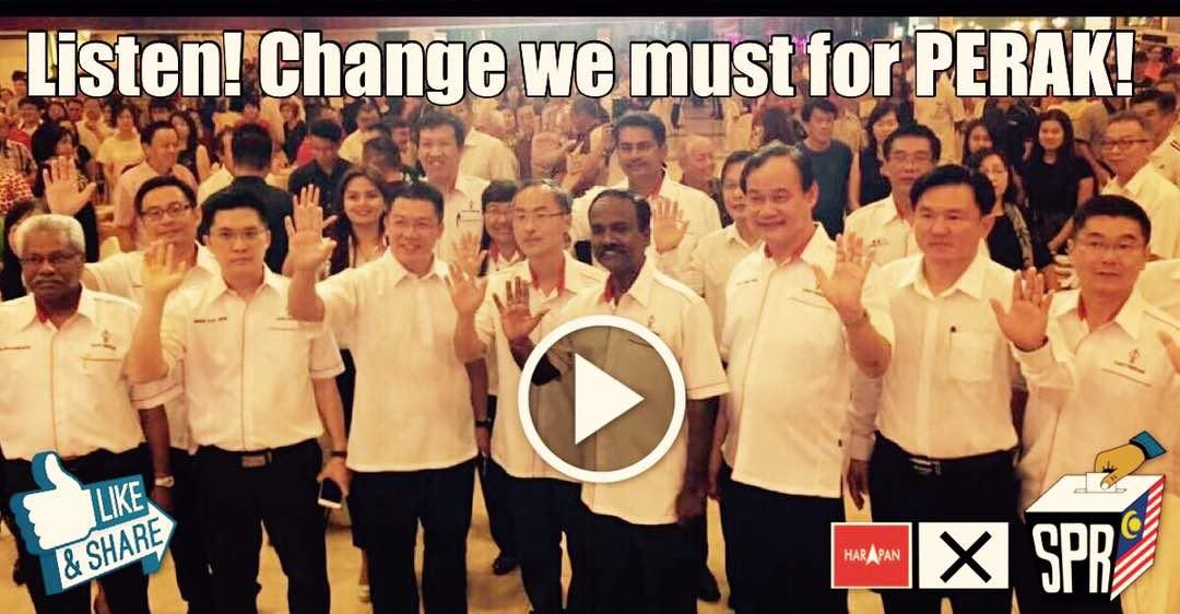 Listen! Change we must for PERAK!