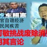 国阵高官自诩经济好不明民间疾苦,倪可敏挑战废除消费税证明其言论。
