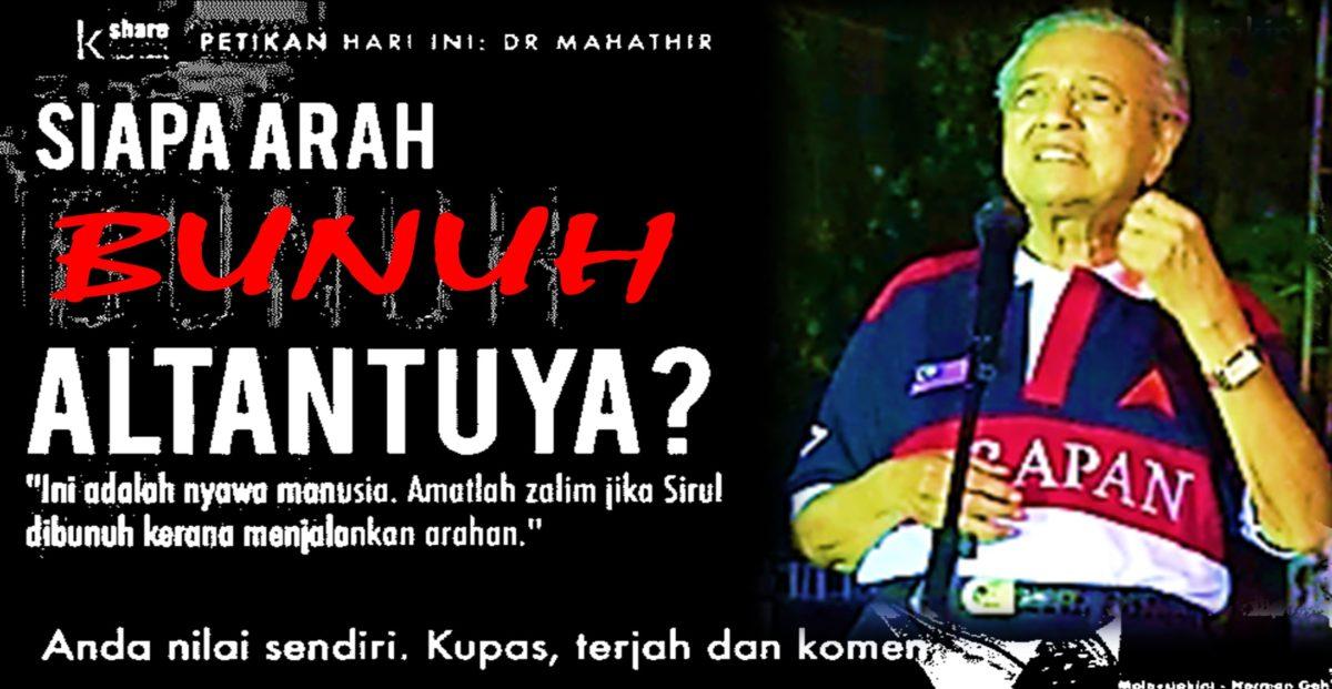 Tun Dr Mahathir Mohamad: Najib telah lakukan sekurang-kurangnya 62 kesalahan