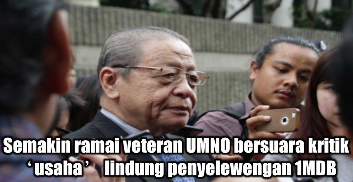 Semakin ramai veteran UMNO bersuara kritik 'usaha' lindung penyelewengan 1MDB