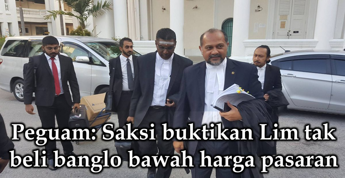 Peguam: Saksi buktikan Lim tak beli banglo bawah harga pasaran