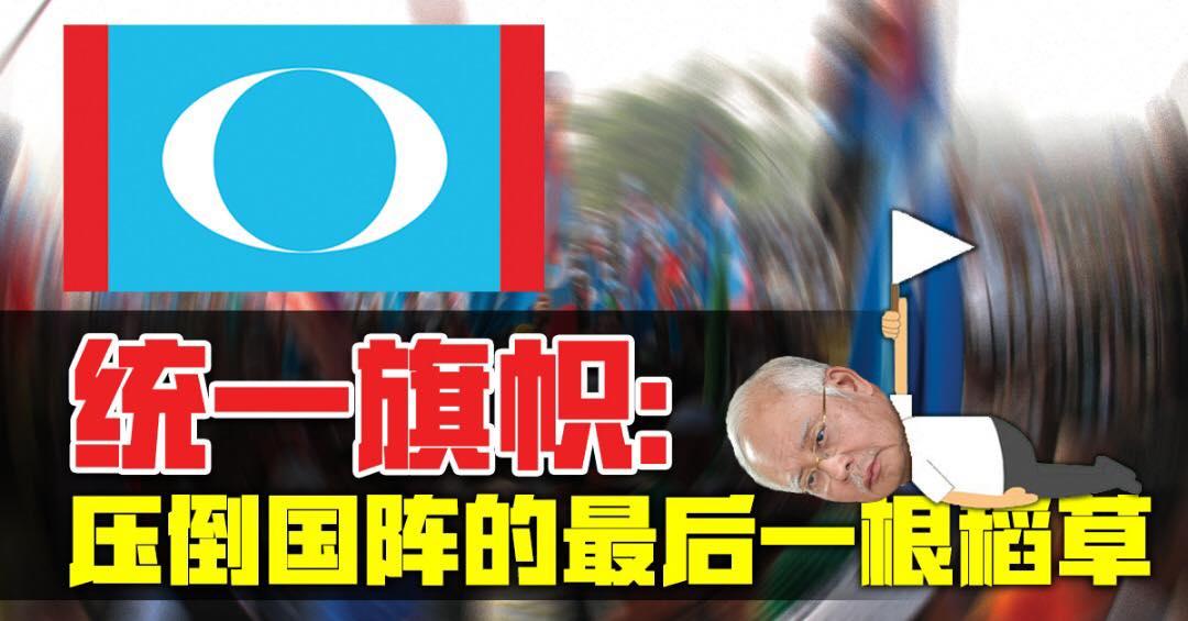 统一旗帜:压倒国阵的最后一根稻草