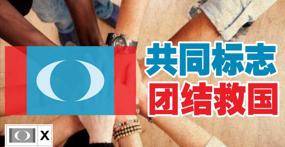 共同标志 团结救国