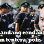 Najib pandang rendah pasukan tentera, polis