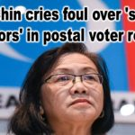 Maria Chin cries foul over 'serious errors' in postal voter roll
