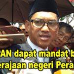 HARAPAN dapat mandat bentuk kerajaan negeri Perak