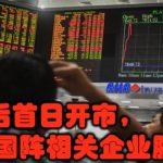 大选后首日开市,国阵相关企业股价跌