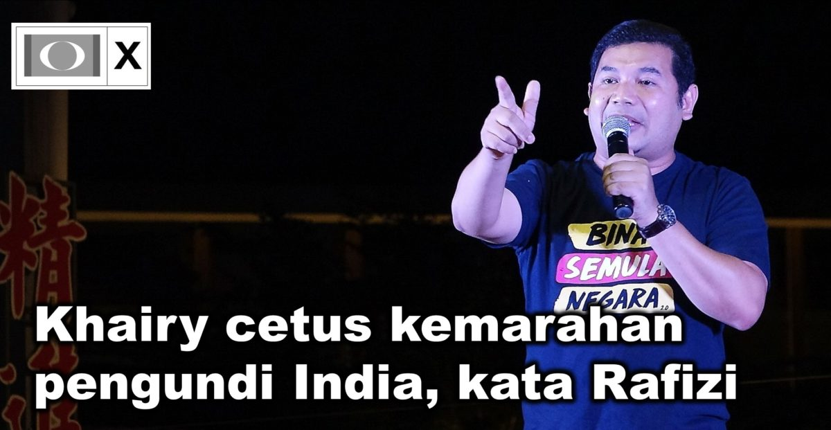 Khairy cetus kemarahan pengundi India, kata Rafizi