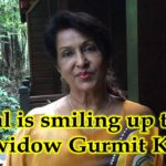 "Widow Gurmit Kaur says ""Karpal is smiling up there."""