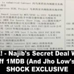 OUTRAGE! – Najib's Secret Deal With China To Pay Off 1MDB (And Jho Low's) Debts! – SHOCK EXCLUSIVE