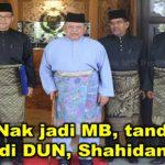 Raja: Nak jadi MB, tandinglah di DUN, Shahidan