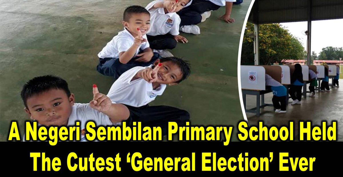 A Negeri Sembilan Primary School Held The Cutest 'General Election' Ever