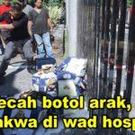 Kes pecah botol arak, Jamal didakwa di wad hospital