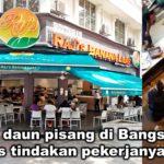 Restoran daun pisang di Bangsar mohon maaf atas tindakan pekerjanya