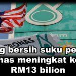 Untung bersih suku pertama Petronas meningkat kepada RM13 bilion