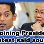 KJ joining Presidency contest said source
