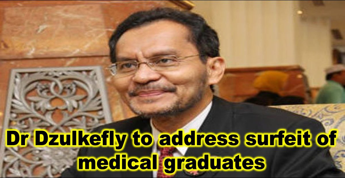 Dr Dzulkefly to address surfeit of medical graduates