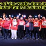 Summary of the works done in 14 days under Tun M leadership