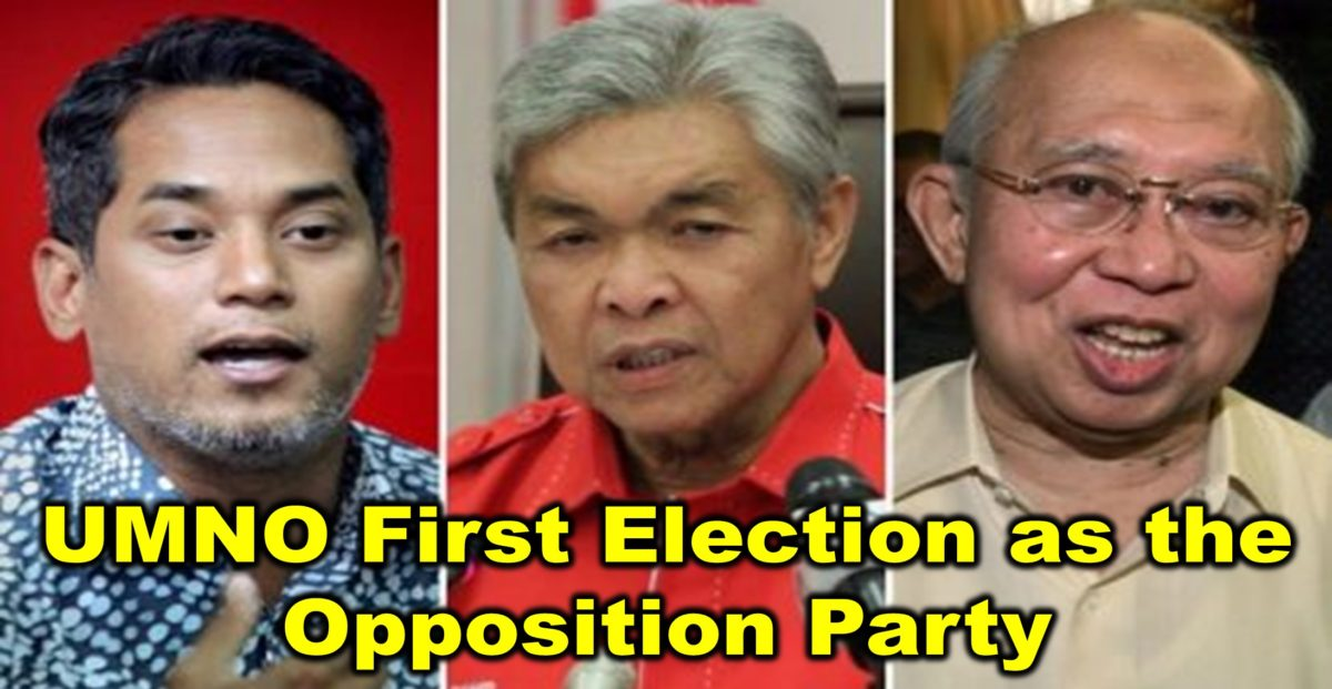 UMNO First Election as the Opposition Party