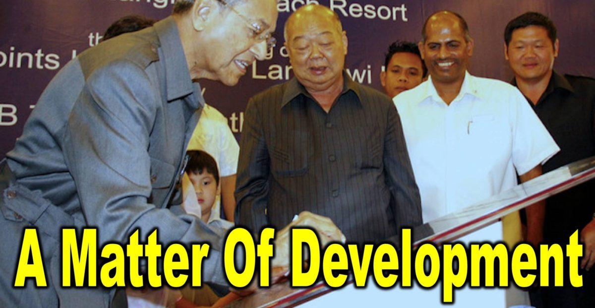 A Matter Of Development