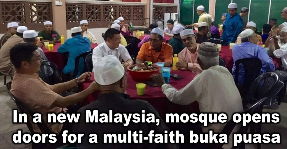 In a new Malaysia, mosque opens doors for a multi-faith buka puasa