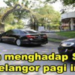 Azmin menghadap Sultan Selangor pagi ini