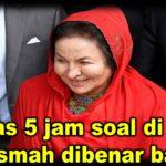 Selepas 5 jam soal di SPRM, Rosmah dibenar balik