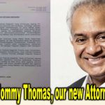 Congrats to Tommy Thomas, our new Attorney General.