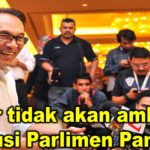 Anwar tidak akan ambil alih kerusi Parlimen Pandan