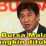 CEO Bursa Malaysia mungkin ditukar