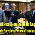 """MPTI harus kembali kepada tugas dan fungsi asalnya"" kata Penyelaras Parlimen Teluk Intan"