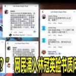 """""""倪可敏呢?"""" 网民涌入林冠英脸书质问部长人选"""