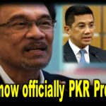 Anwar now officially PKR President