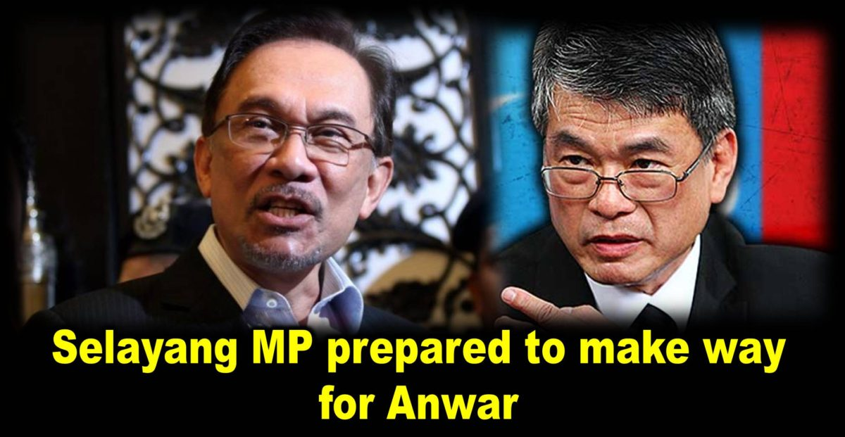 Selayang MP prepared to make way for Anwar