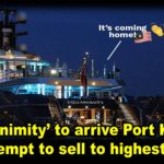 'Equanimity' to arrive Port Klang and attempt to sell to highest bidder