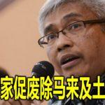 宪法专家促废除马来及土著特权
