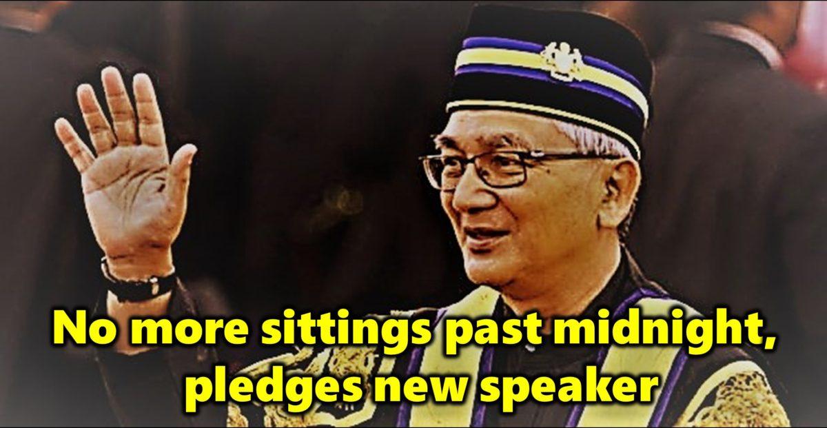 No more sittings past midnight, pledges new speaker