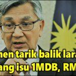 Parlimen tarik balik larangan bincang isu 1MDB, RM2.6b