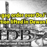 Interim gag order over DoJ's 1MDB civil action lifted in Dewan Rakyat