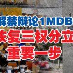 议长阿里夫解禁1MDB课题 林吉祥:恢复三权分立重要一步
