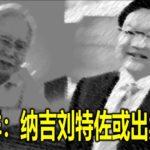 林吉祥:纳吉刘特佐或出卖对方