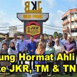 Kunjung Hormat Ahli MPTI ke JKR, TM & TNB