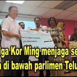 YB Nga Kor Ming menjaga semua sekolah di bawah parlimen Teluk Intan