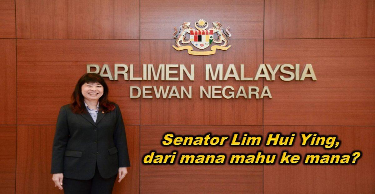 Senator Lim Hui Ying, dari mana mahu ke mana?