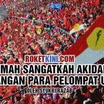 Lemah sangatkah akidah perjuangan para pelompat UMNO?