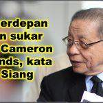 DAP berdepan laluan sukar tawan Cameron Highlands, kata Kit Siang