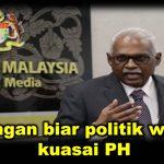 Jangan biar politik wang kuasai PH
