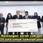 Menteri Kewangan serah cek peruntukan RM25 juta untuk sekolah pondok