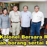 Dua Kolonel Bersara RAMD serah borang sertai DAP